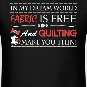 Quilting Tee Shirt - Men's T-Shirt