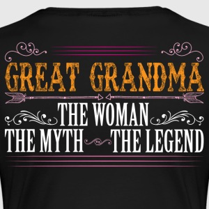 Great Grandma The Legend... T-Shirts - Women's Premium T-Shirt