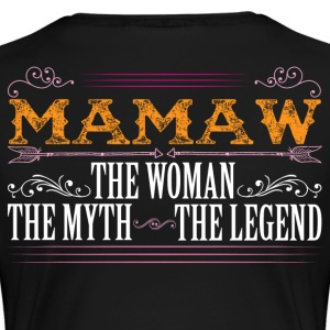 Mamaw The Legend... T-Shirts - Women's Premium T-Shirt