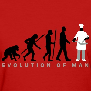 evolution_chief_with_pan_09_201602_3c T-Shirts - Women's T-Shirt