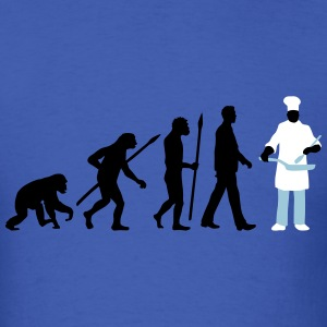 evolution_chief_with_pan_09_201603_3c T-Shirts - Men's T-Shirt
