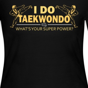 Taekwondo Tshirt - Women's Long Sleeve Jersey T-Shirt
