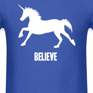 Unicorn Believe - Men's T-Shirt