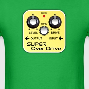 Super Over Drive Pedal - Men's T-Shirt