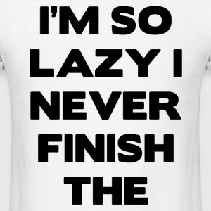 lazy.png T-Shirts - Men's T-Shirt