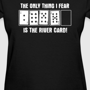 Funny Domino Card Games - Women's T-Shirt
