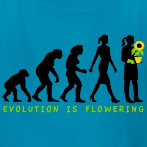 evolution_female_florist_gardener_072016 Kids' Shirts - Kids' T-Shirt