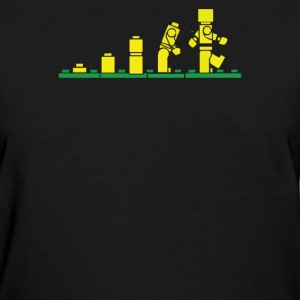 Evolution of Lego - Women's T-Shirt