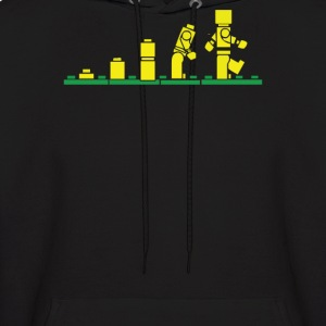 Evolution of Lego - Men's Hoodie