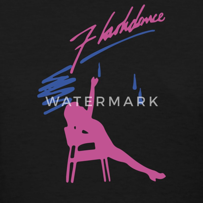 Flashdance 80s Movie - Women's T-Shirt