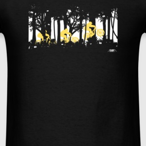 forest jump - Men's T-Shirt