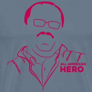 Ken Bone - American Hero - Red Sweater Guy T-Shirts - Men's Premium T-Shirt