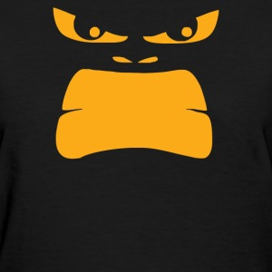 Funny Angry Gorilla Face - Women's T-Shirt