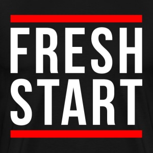 FRESH START NEW BEGINNING T-Shirts - Men's Premium T-Shirt
