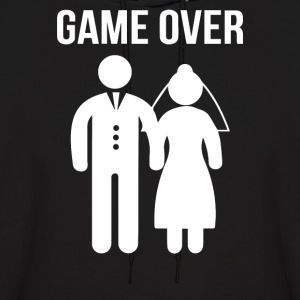 Game Over Funny - Men's Hoodie