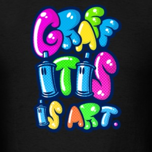 Graffitis Art Multicolors - Men's T-Shirt