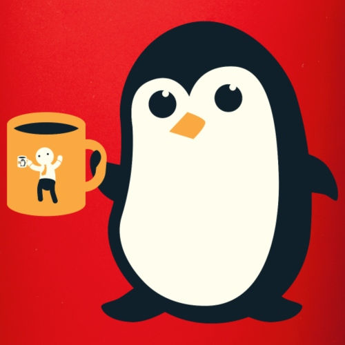 Cute Penguin Coffee