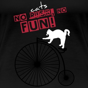 No cats NO FUN! T-Shirts - Women's Premium T-Shirt