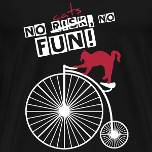 No cats NO FUN! - Men's Premium T-Shirt
