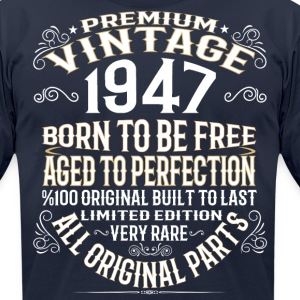 PREMIUM VINTAGE 1947 T-Shirts - Men's T-Shirt by American Apparel