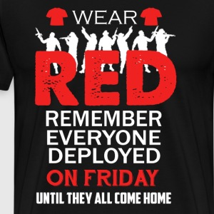 Wear Red On Friday Shirt - Men's Premium T-Shirt