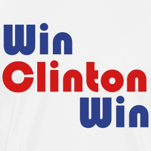 Win Clinton Win - Men's Premium T-Shirt
