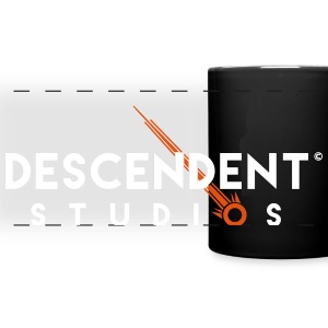 Descendent Studios Two-Color Logo Mugs & Drinkware - Full Color Panoramic Mug