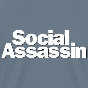 Social Assassin - Men's Premium T-Shirt