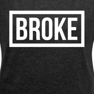 BROKE BROKE T-Shirts - Women´s Rolled Sleeve Boxy T-Shirt