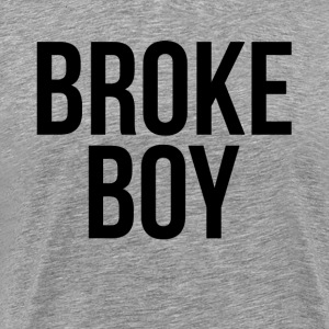 BROKE BOY T-Shirts - Men's Premium T-Shirt