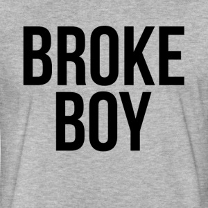 BROKE BOY T-Shirts - Fitted Cotton/Poly T-Shirt by Next Level