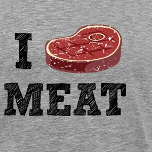 (i_lovemeat_1) T-Shirts - Men's Premium T-Shirt