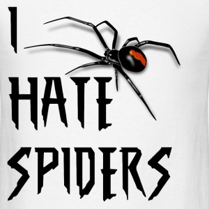 I HATE SPIDERS T-Shirts - Men's T-Shirt