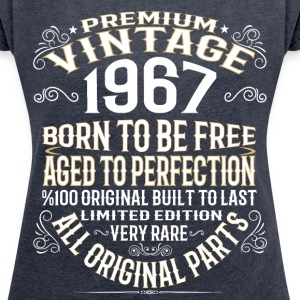 PREMIUM VINTAGE 1967 T-Shirts - Women´s Rolled Sleeve Boxy T-Shirt