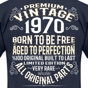 PREMIUM VINTAGE 1970 T-Shirts - Men's T-Shirt by American Apparel