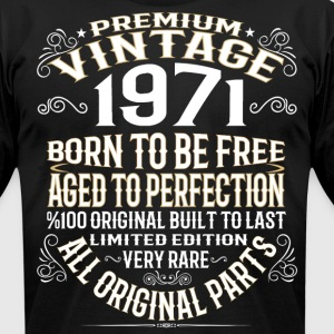 PREMIUM VINTAGE 1971 T-Shirts - Men's T-Shirt by American Apparel