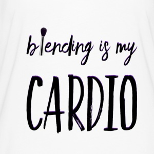 BLENDING IS MY CARDIO T-Shirts - Women's Flowy T-Shirt