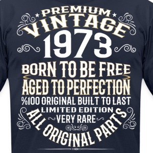 PREMIUM VINTAGE 1973 T-Shirts - Men's T-Shirt by American Apparel