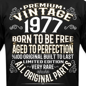 PREMIUM VINTAGE 1977 T-Shirts - Men's T-Shirt by American Apparel