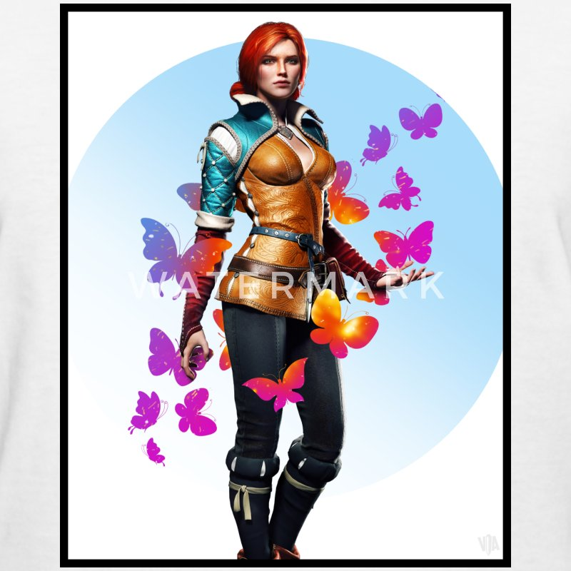 Triss Merigold | Butterflies - Women's T-Shirt