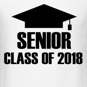 SENIOR 2018A.png T-Shirts - Men's T-Shirt