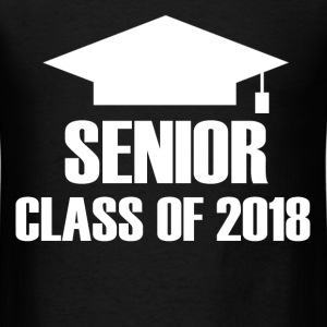 SENIOR 2018B.png T-Shirts - Men's T-Shirt