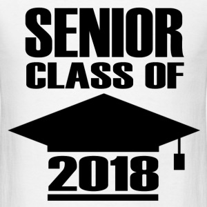 SENIOR 20181.png T-Shirts - Men's T-Shirt