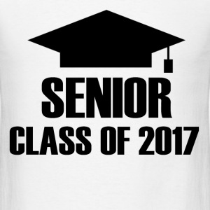 SENIOR 2017.png T-Shirts - Men's T-Shirt