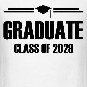 GRADUATE CLASS OF 20291.png T-Shirts - Men's T-Shirt