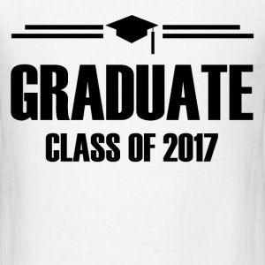 GRADUATE CLASS OF 2017 1.png T-Shirts - Men's T-Shirt