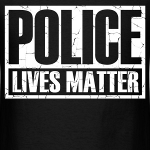 POLICE2.png T-Shirts - Men's T-Shirt