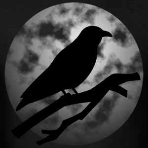 Raven Moon T-Shirts - Men's T-Shirt