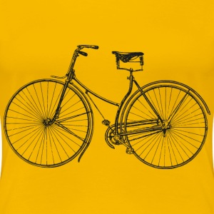 Old Bicycle - Women's Premium T-Shirt