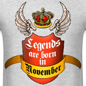Legends November T-Shirts - Men's T-Shirt